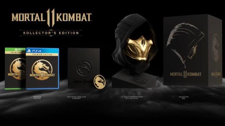 Η συλλεκτική έκδοση του Mortal Kombat 11 θα κυκλοφορήσει για PS4 και Xbox One.