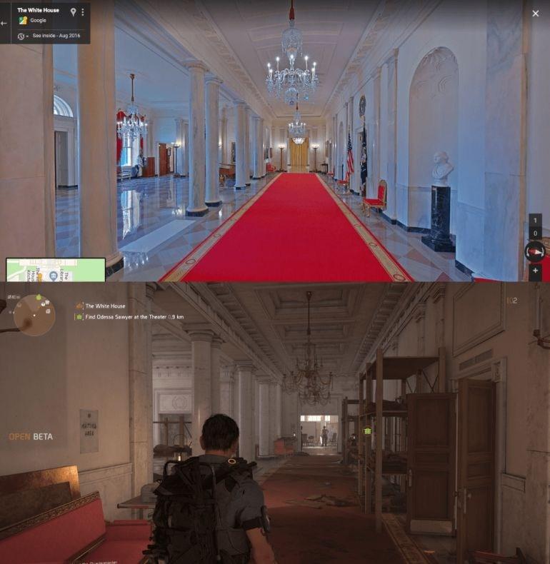Τα δωμάτια μέσα στον Λευκό Οίκο