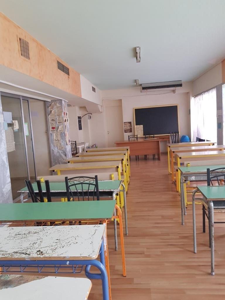 Αίθουσα για τη διδασκαλία των παιδιών από εθελοντές