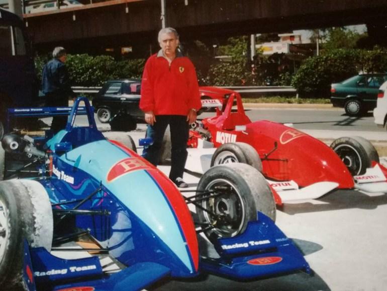 Ο Χρήστος Πλεξίδας είχε συνδέσει το όνομά με τους αγώνες Formula 3 στην Ελλάδα...
