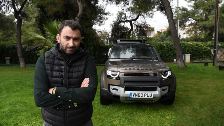 Αυτό είναι το πρώτο Land Rover Defender τελευταίας γενιάς και όπως μπορείτε να καταλάβετε δεν θα μπορούσε να μας... ξεφύγει!