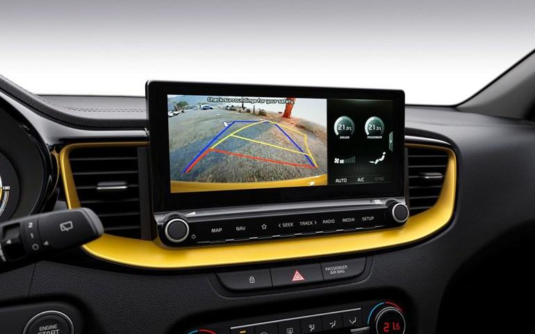 Ψηφιακή οθόνη που παρέχει όλες τις πληροφορίες που χρειάζεται ο οδηγός...